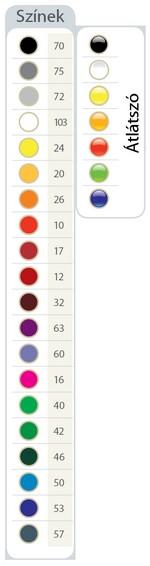 Lux asztali tolltartó színek