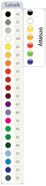 Quadrate tolltartó színek