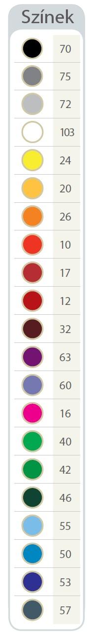 T-pen partner toll színek